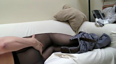 Pantyhose, Pantyhose gay, Solo pantyhose, Crossdresser, Black pantyhose