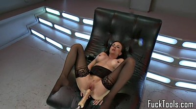 Machine, Solo squirting, Machine squirting, Orgasm machine