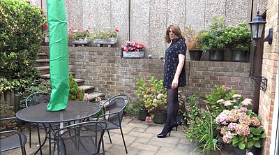 Crossdresser, Garden, Crossdressing