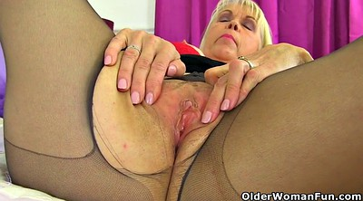 Nylon, Granny nylon, Fetish nylon, British mature