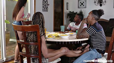 Family, Group sex orgy, Teenie, Family group