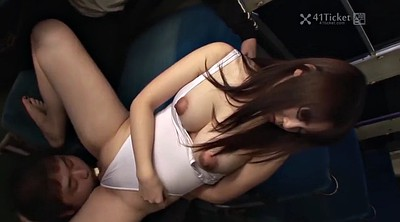 Japanese gangbang, Japanese bus
