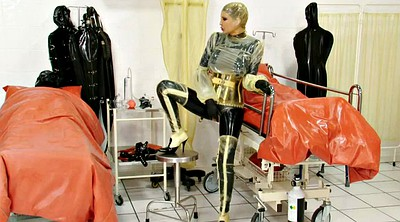 Clinic, Rubber, Game, Latex bdsm, Catheter