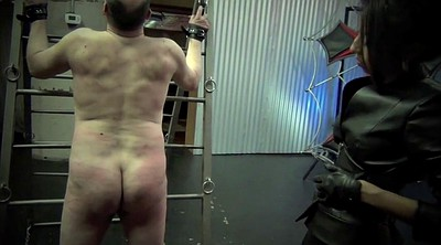 Caning, Latex mistress, Caned