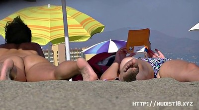 Outdoor, Nudist beach, Spreading, Nudism