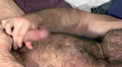 Gay, Muscle daddy, Hairy interracial