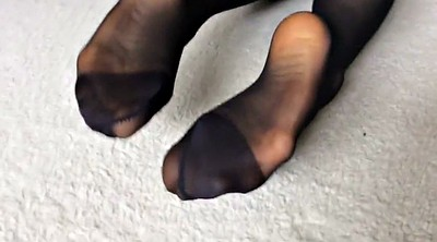 Nylon feet, Nylon foot, Asian nylon, Foot nylon, Feet nylon