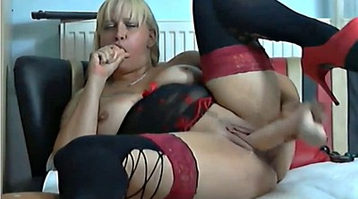 Dildo, Mature webcam
