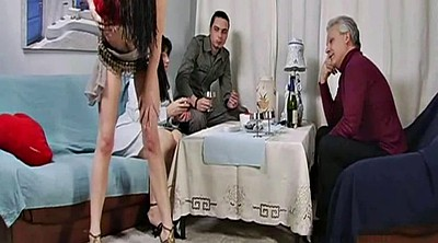 Stepdad, Birthday, Russian party, Russian milf, Old russian, Young sex parties