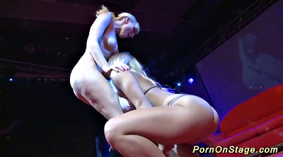 European, Stage, On stage, Stage show, Stage sex