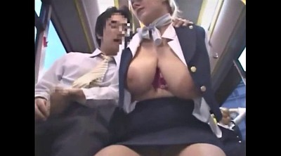 Bus, Mature massage, Grope, Groping