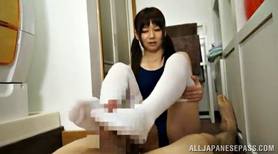 Footjob, Suit, Asian foot