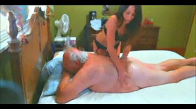 Escort, Granny massage, Old man and young