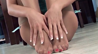 Nylon foot, Nylon masturbation