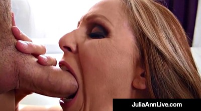 Julia ann, Julia, Ann, Cum on tits, Julia ann milf, Hot mature