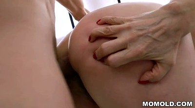 Hairy anal, Anal granny