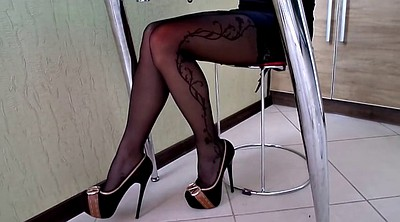 Shoe, Pantyhose amateur