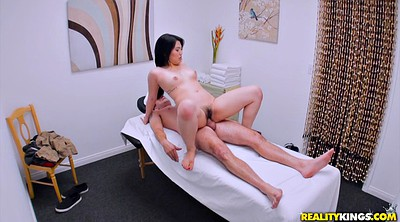 Korean, Small, Reverse cowgirl, Park