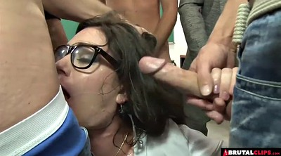 Teacher, Anal gangbang, Teacher student