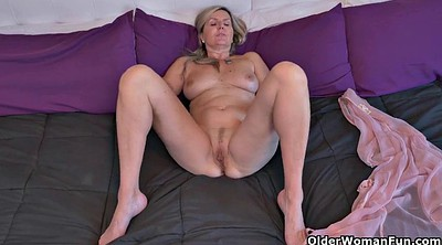 Mature masturbating, Cougar, Canadian