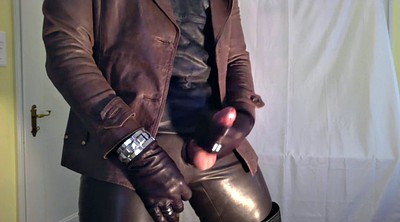 Leather, Man