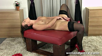 Pissing, Stockings anal, Piss in, Black stockings, Anal piss, Stocking pissing