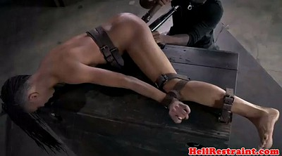 Screaming, Ebony bondage, Punishment, Punish