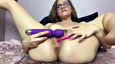 Squirting, Hairy masturbation, Webcam squirt, Marie