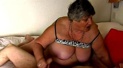 Old granny, Pussy mature