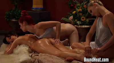 Slave, Mistress, Lesbian slave, Lesbian massage, To, Slaves