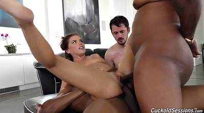 Deep, Cuckold peeing, Black threesome