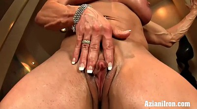 Big clit, Muscle girl, Strong, Mature blonde, Girl solo