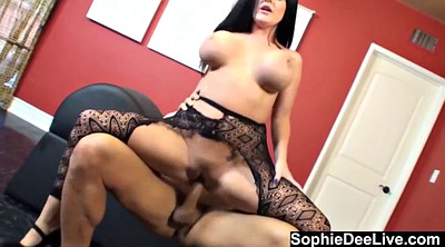 Sophie dee, Dee, Cum on pussy, Pussy cum, Cum on tits, Sophie