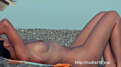 Nudist, Flashing, Water, Nudist beach voyeur