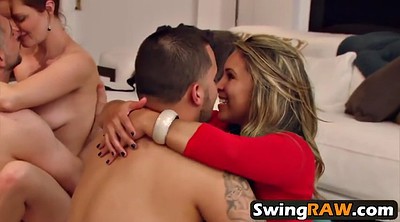 Young couple, Swingers