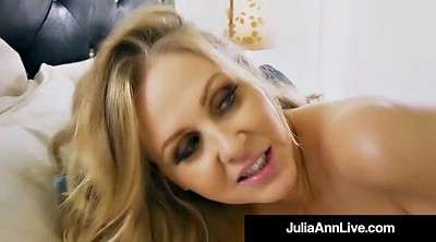 Julia ann, Julia, Step mom, Mom blowjob