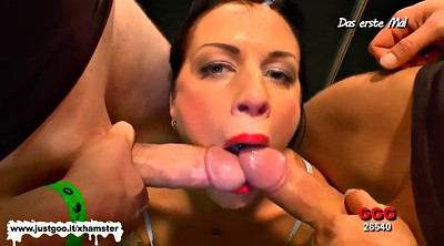 Dildo sucking