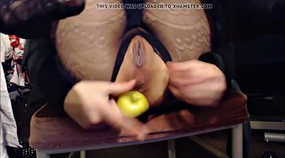 Fisting, Anal dildo, Webcam asshole