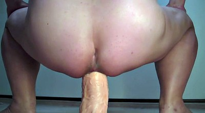 Asshole, Dildo riding, Bbw sex