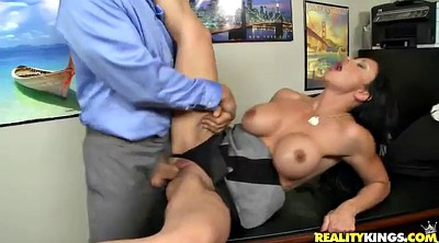 Office anal, Big ass threesome