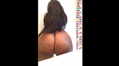 Shaking, Ebony bbw