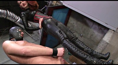Boots, Ball, Punishment, Mistress feet