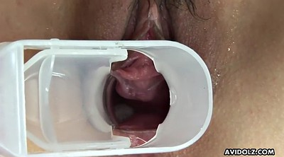 Gyno, Japanese squirt, Japanese squirting, Asian squirt, Speculum, Japanese gyno