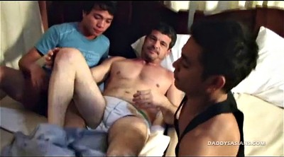 Old and young, Kissing, Old teacher, Asian daddy, Asian boy, Young boys