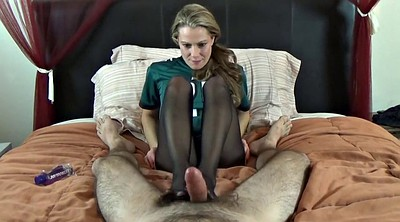 Footjob, Nylon footjob, Nylon foot, Feet nylon