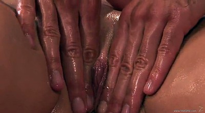 Oil massage, Tits massage