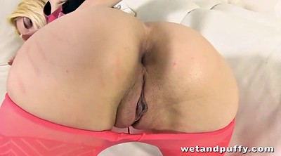 Pantyhose tease, Monster dildo