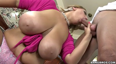 Waitress, Killer, Chubby boobs, Crystal, Boobs licking, Milf big boobs