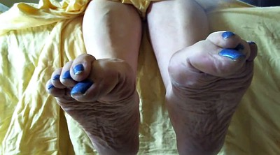 Mature feet, Sole, Mature foot, Foot sole