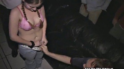 Pigtails, Teen orgy, Group anal, Anal gangbang